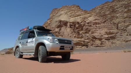 Doris in Wadi Rum